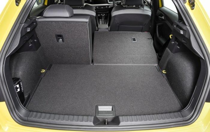 Audi A1 35 TFSI Advanced boot