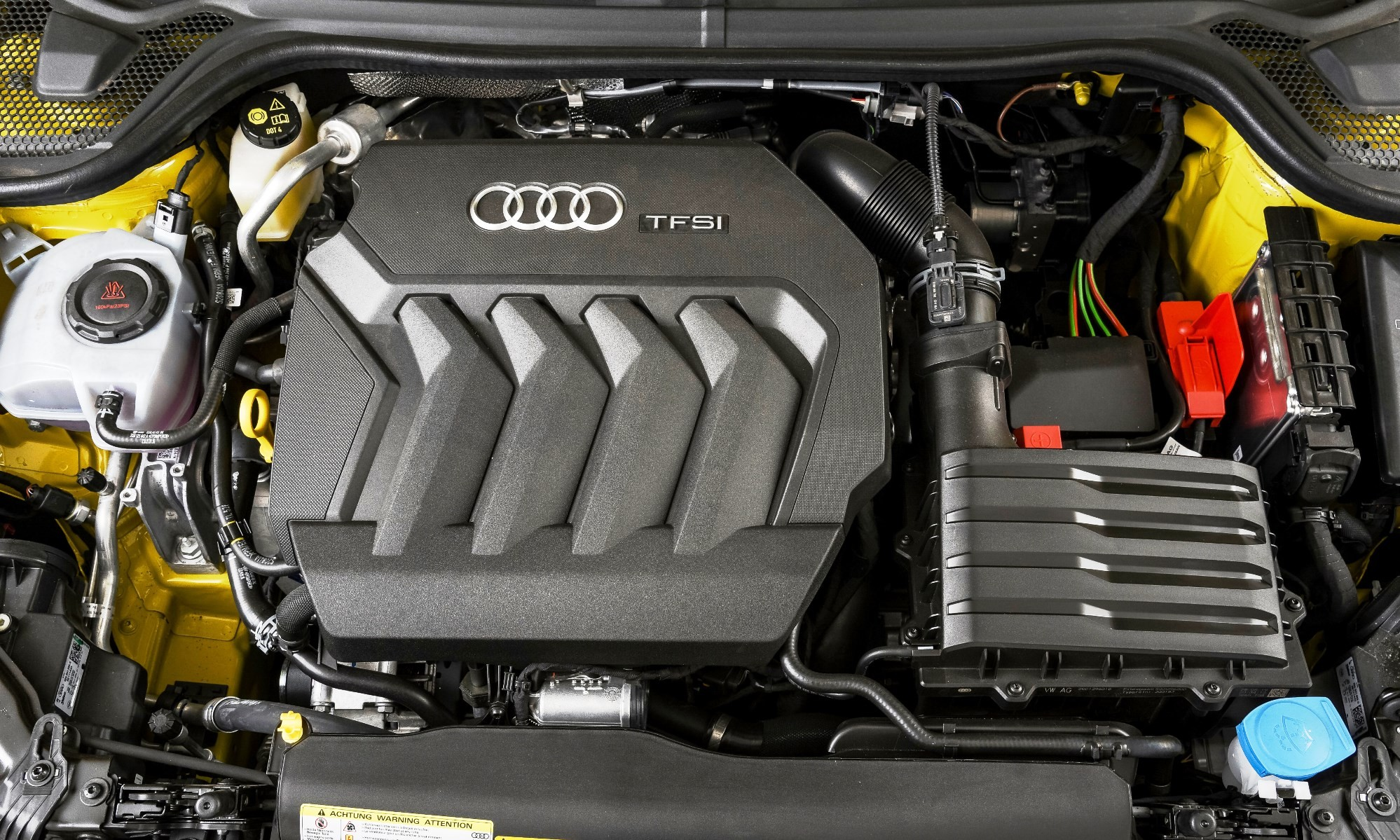 Audi A1 35 TFSI Advanced engine