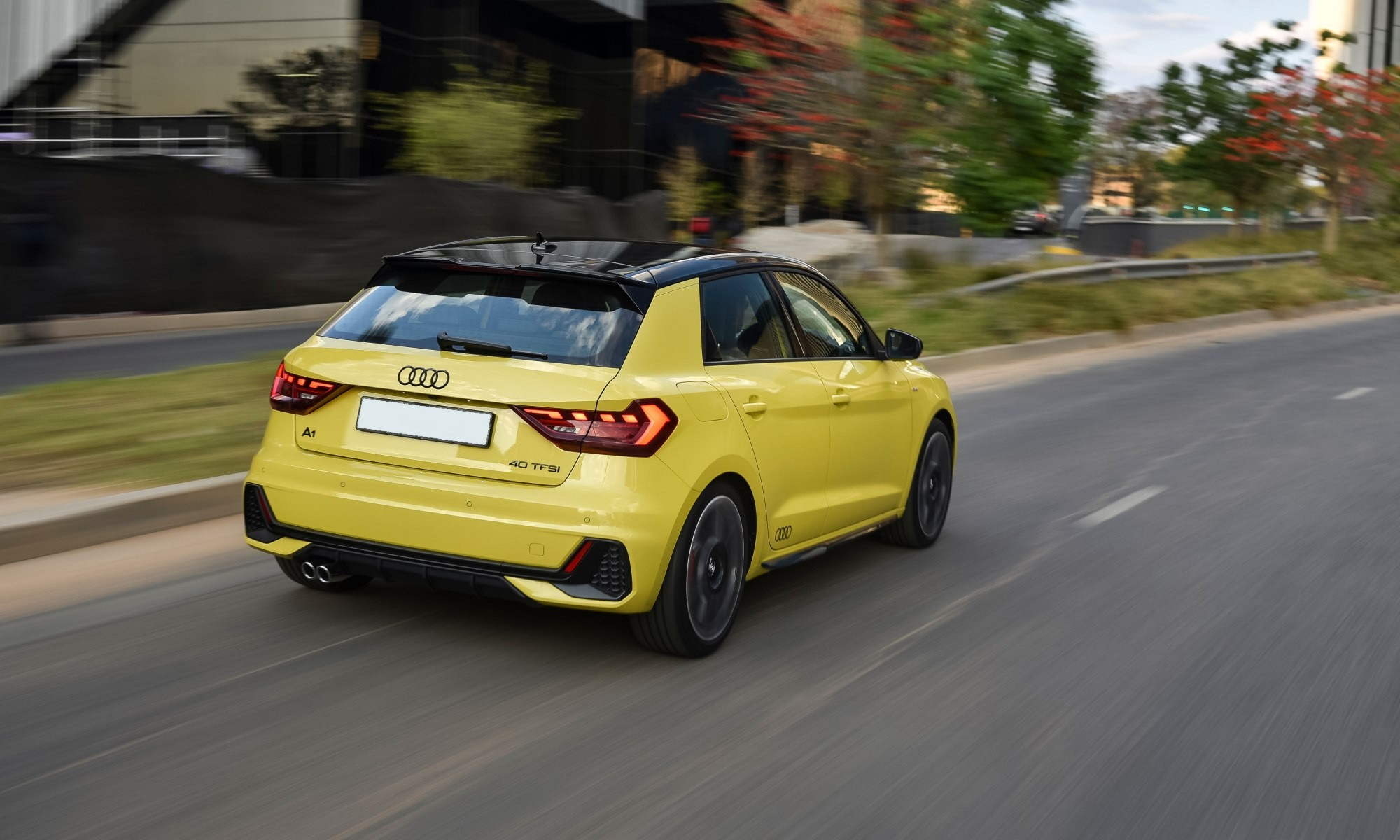 Audi A1 35 TFSI Advanced rear