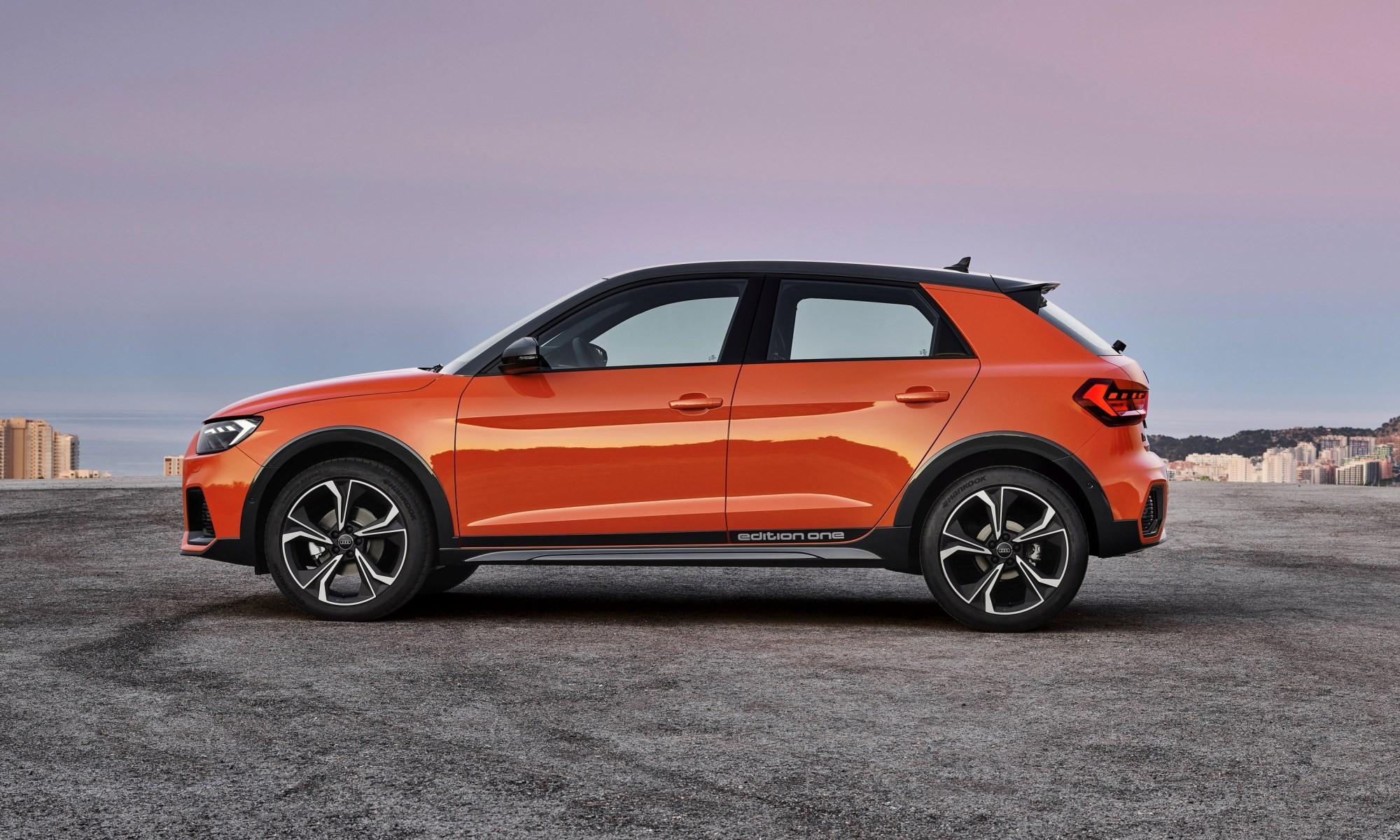 Audi A1 Citycarver profile