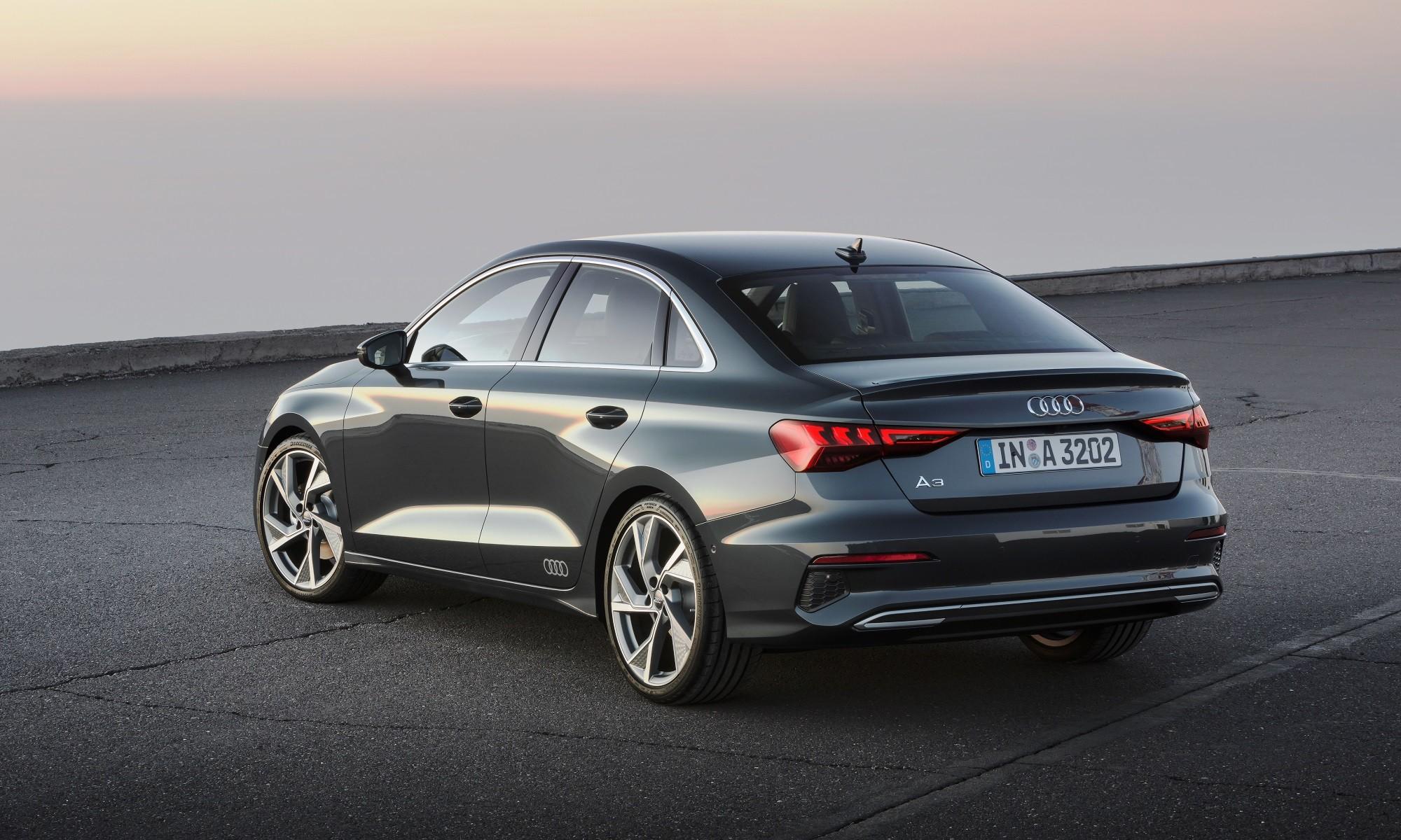 Audi A3 Sedan rear