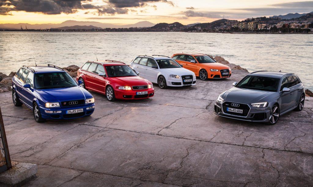 Audi RS avant generations