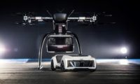 Audi Flying Taxi car and drone