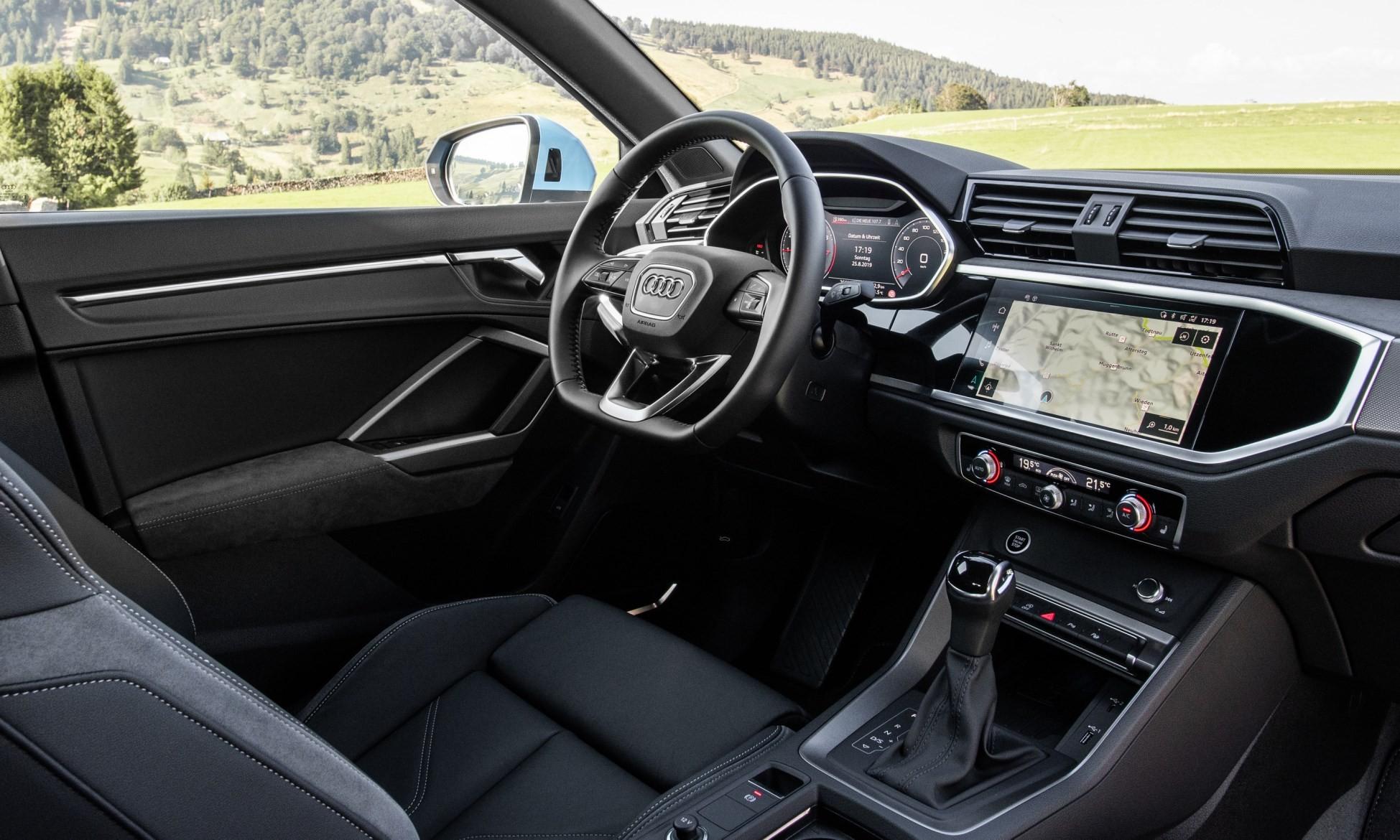 Audi Q3 Sportback interior