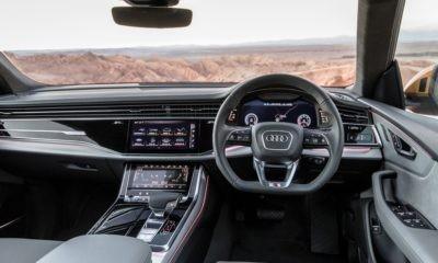 Audi Q8 55 TFSI interior