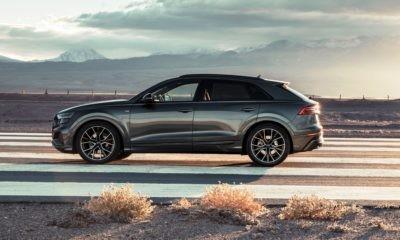 Audi Q8 55 TFSI profile