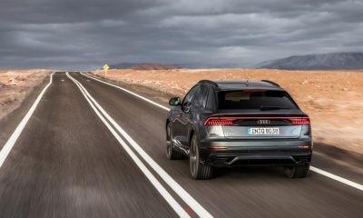 Audi Q8 55 TFSI rear
