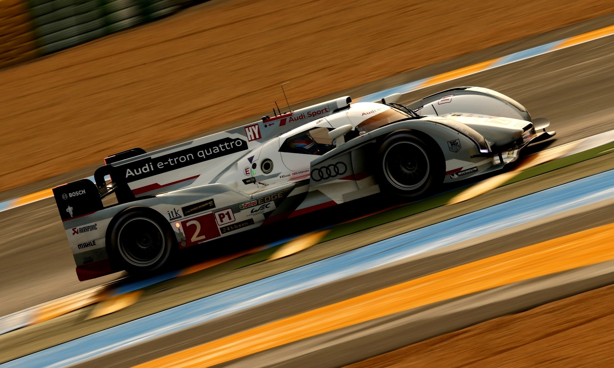 Audi R18 at Le Mans in 2013