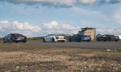 Audi R8 Drag Race rear
