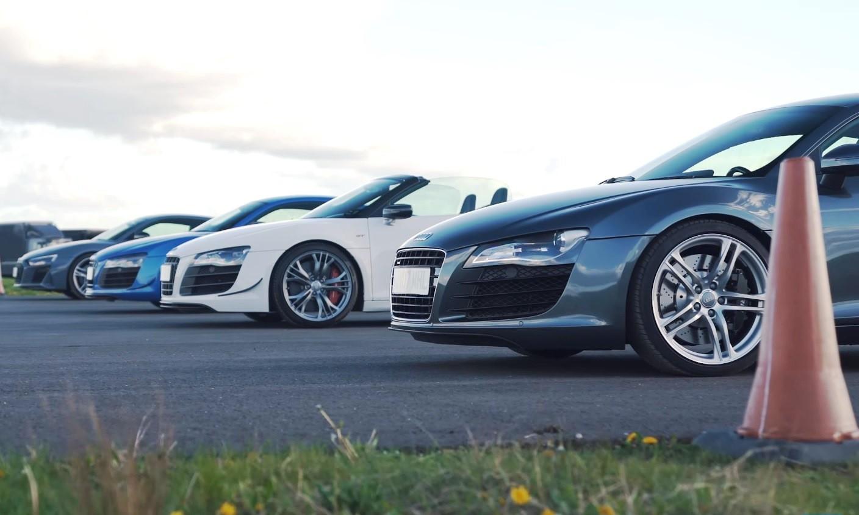 Audi R8 Drag Race