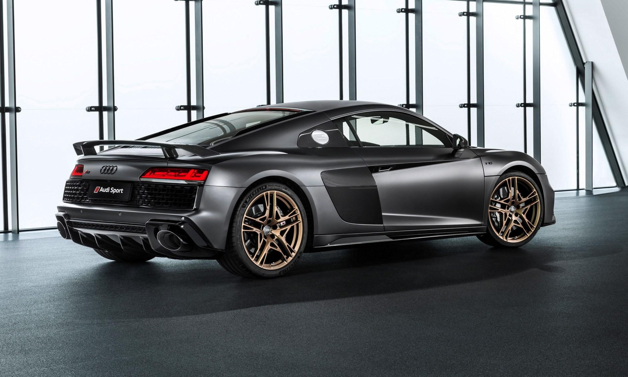 Audi R8 V10 Decennium rear