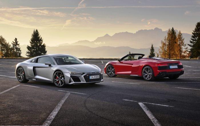 Audi R8 V10 RWD Coupé and Spyder