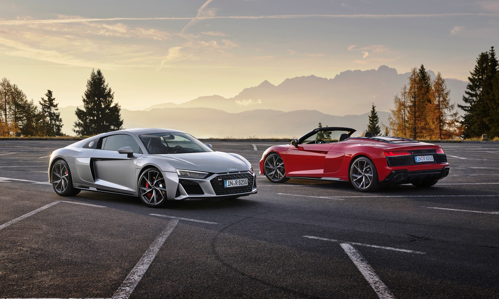 Audi R8 V10 RWD Coupé and Spyder