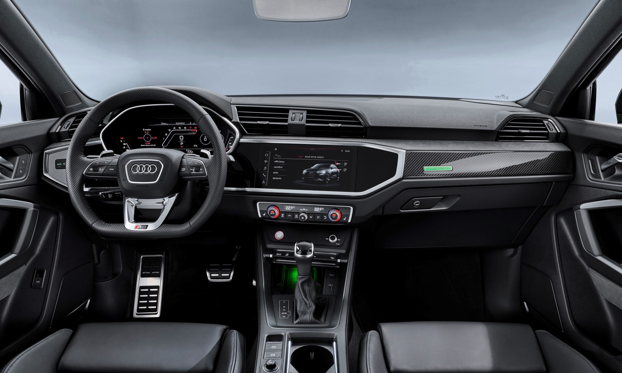 Audi RS Q3 cabin