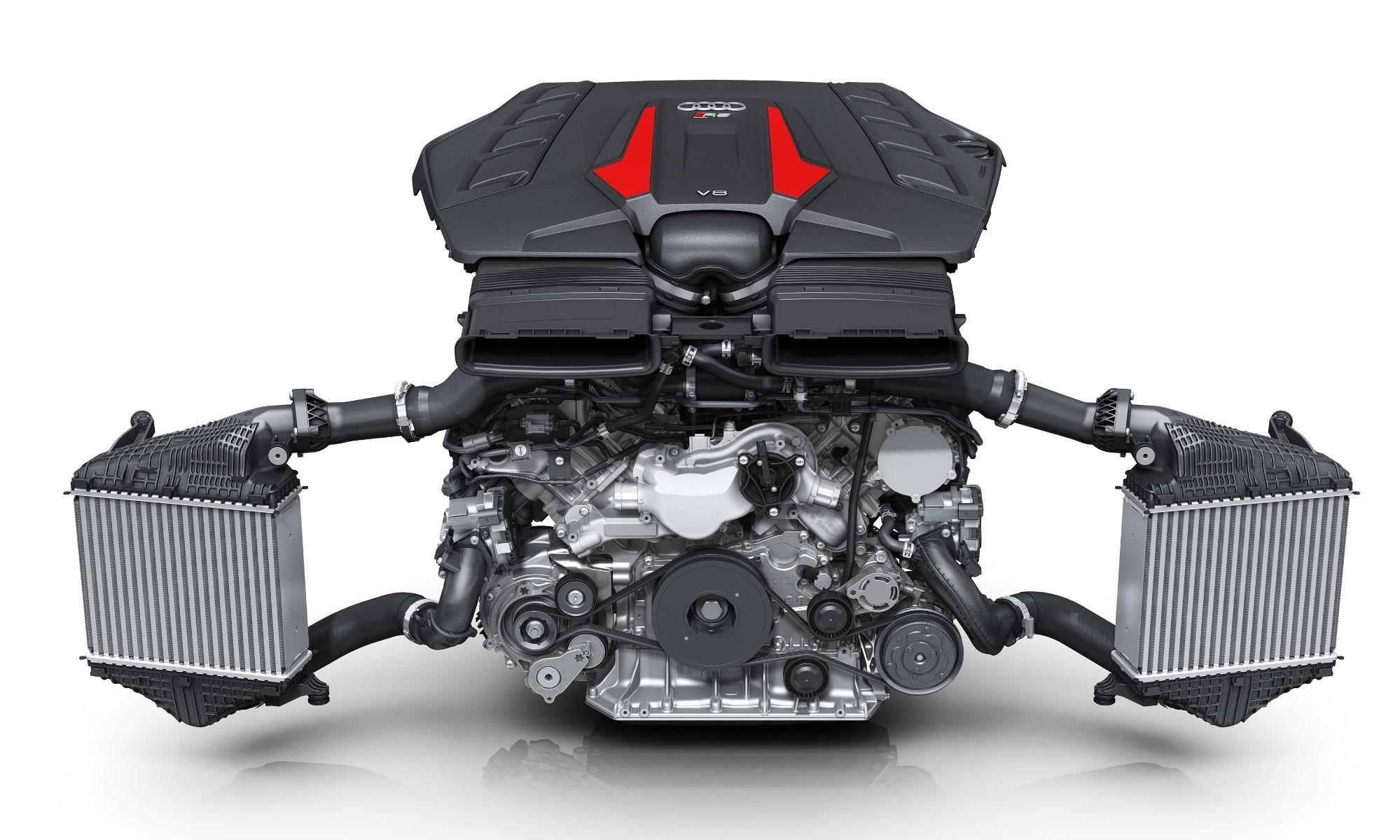 Audi RS Q8 engine