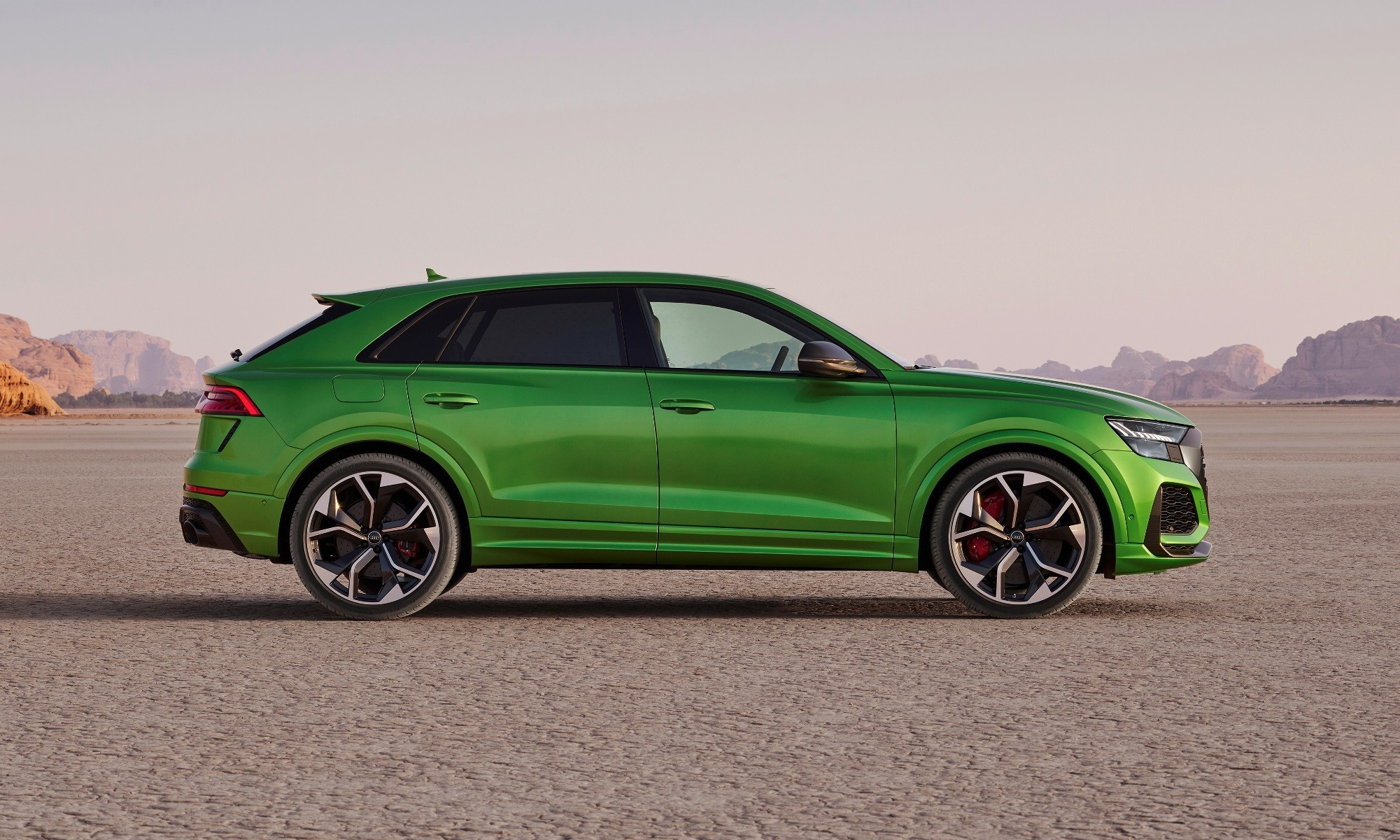 Audi RS Q8 profile