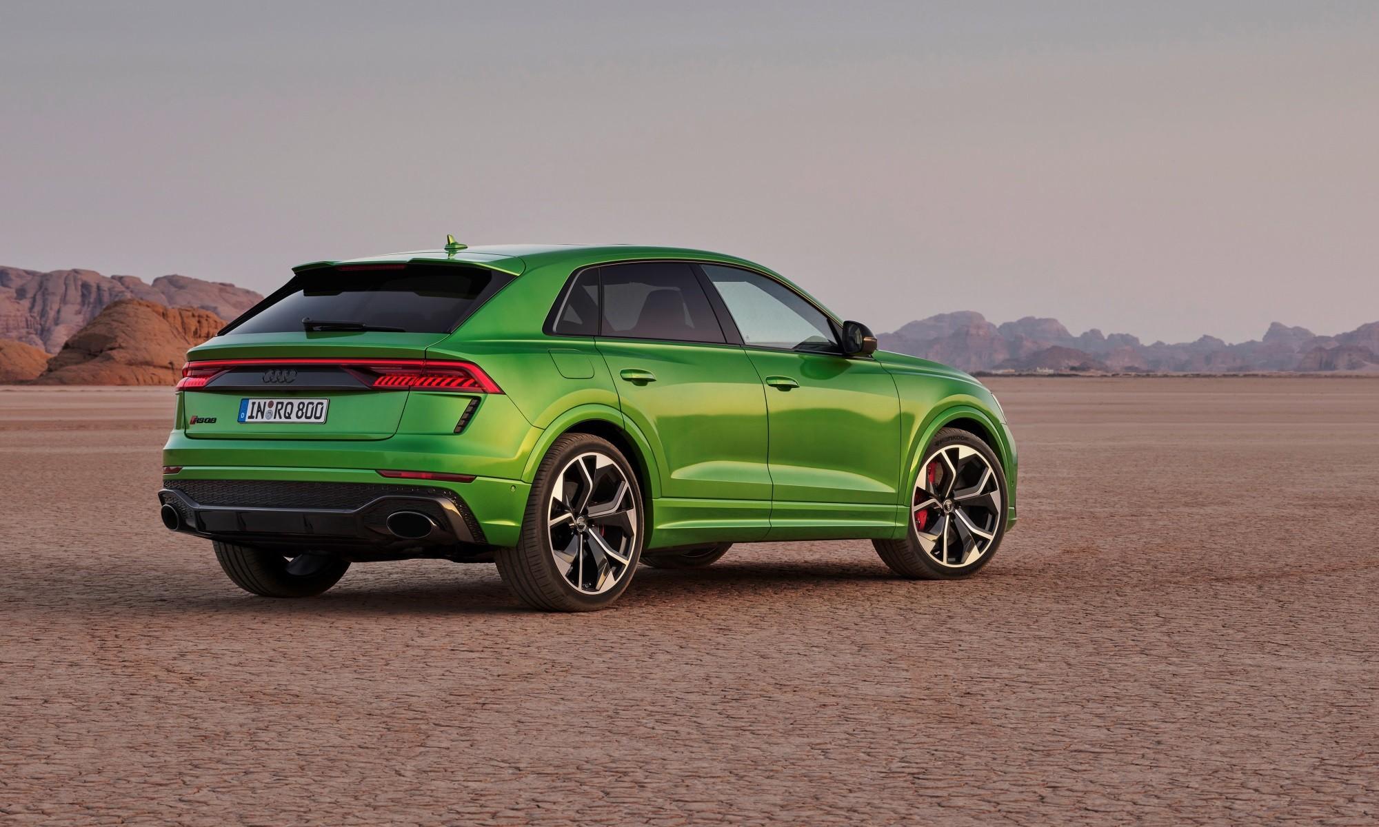 Audi RS Q8 rear