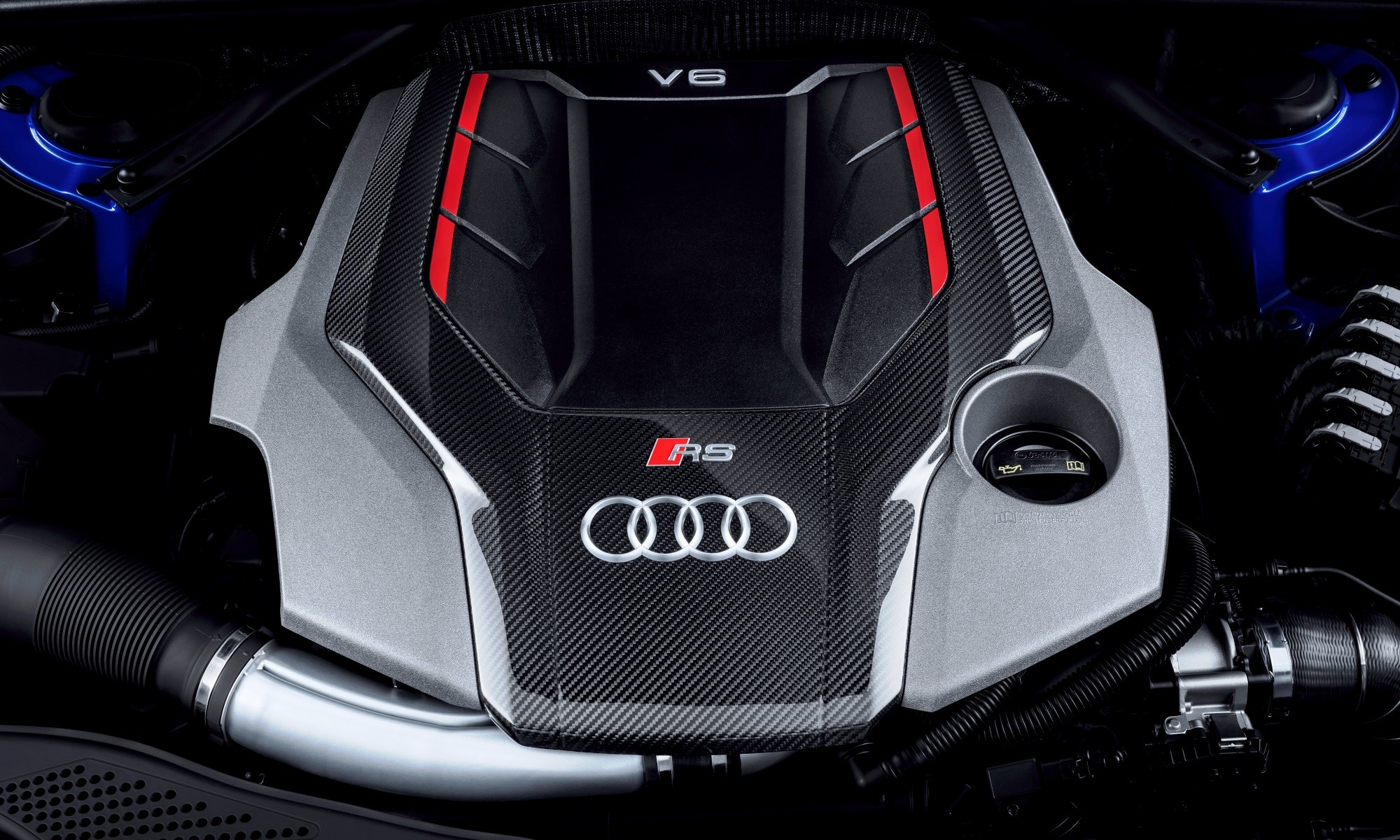 Audi RS4 Avant engine