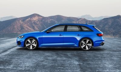 Audi RS4 Avant profile