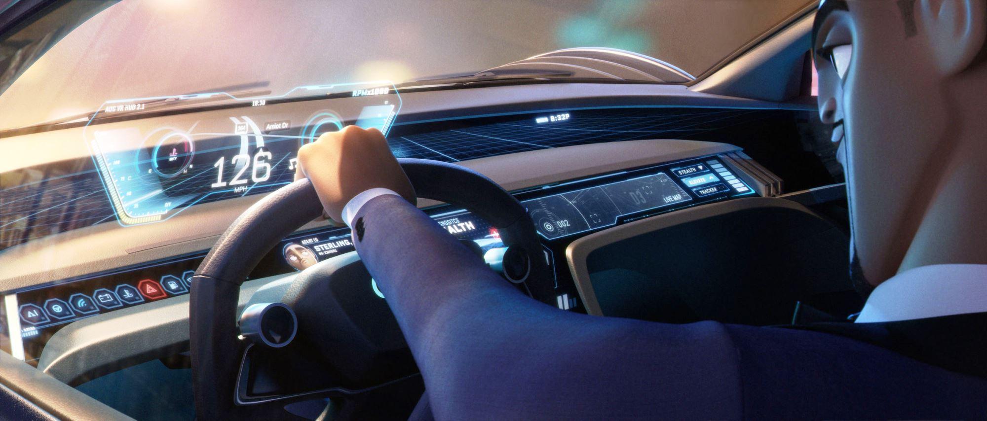 Audi RSQ e-tron interior