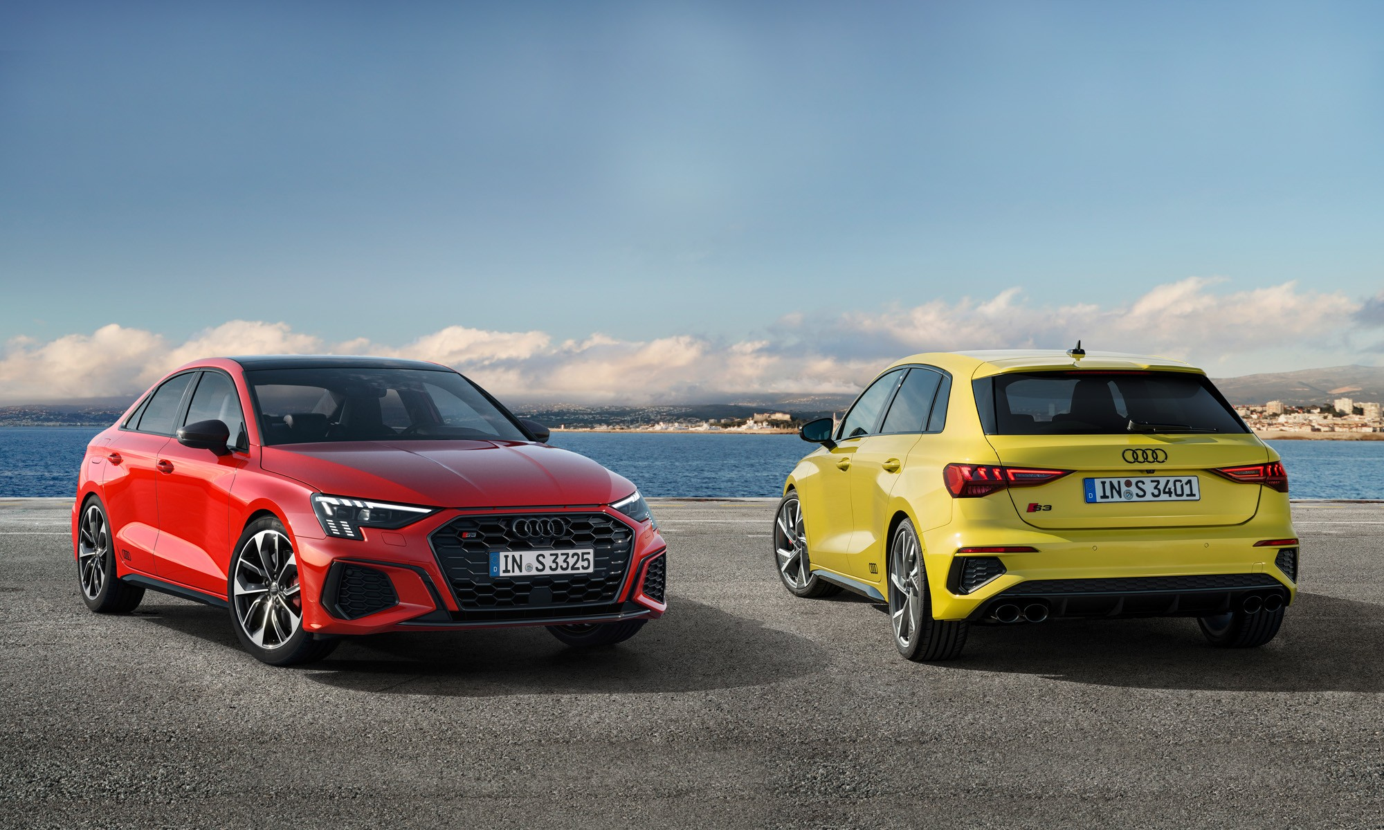 Audi S3 Sportback and Sedan