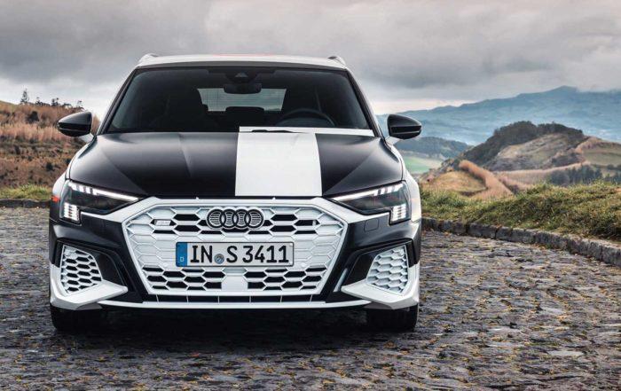 Audi S3 engine info protoype front