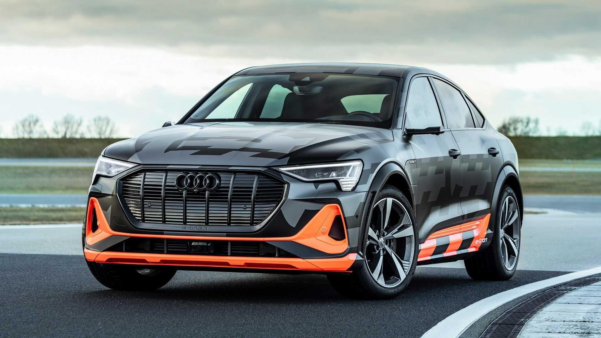 Audi e-tron S Sportback front 1