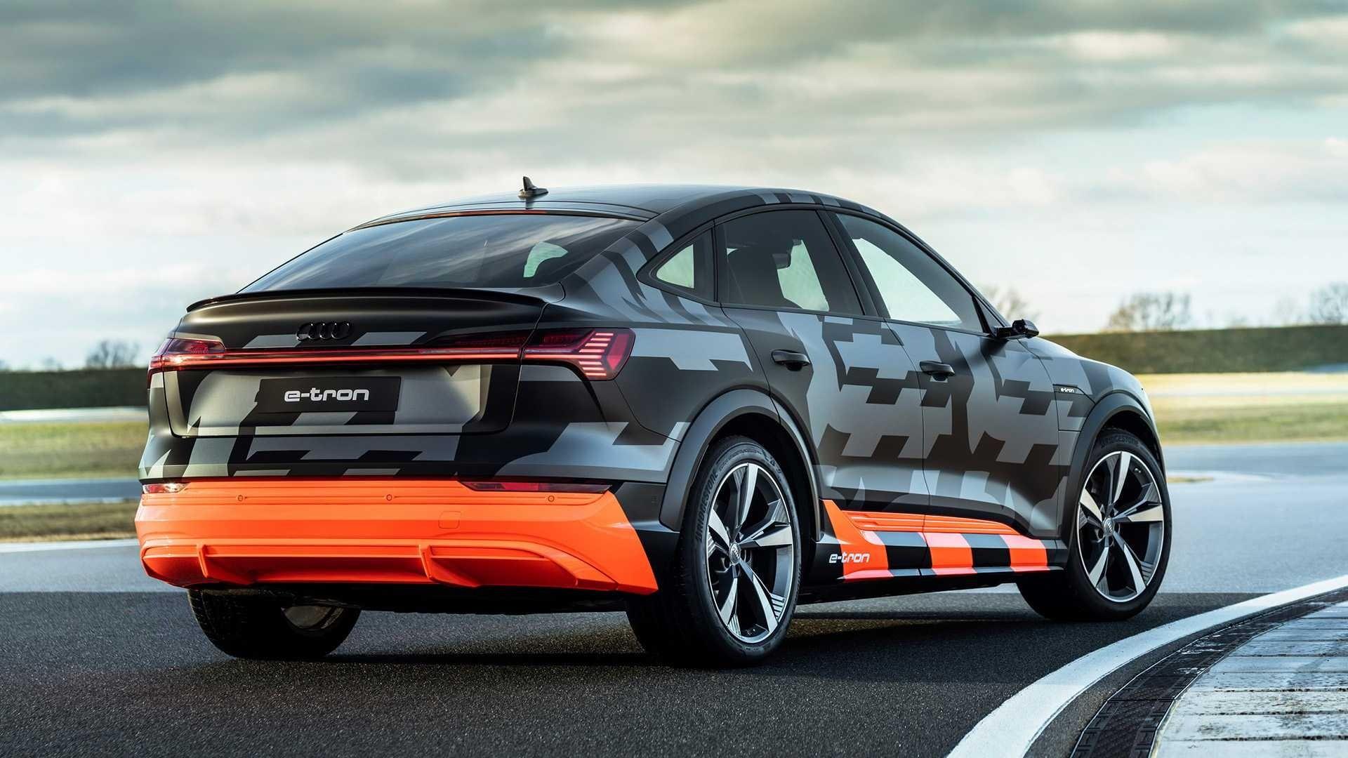 Audi e-tron S Sportback rear 1
