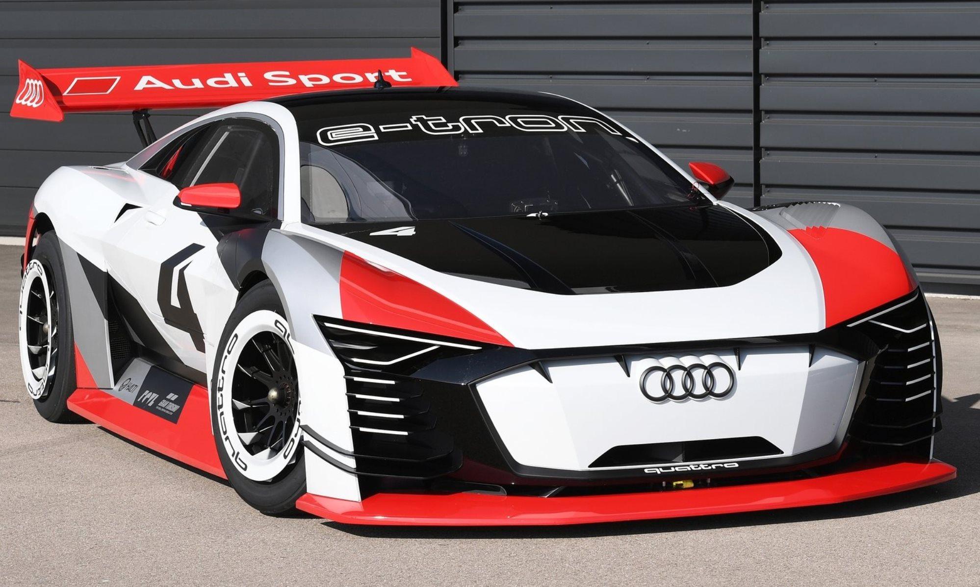 Audi e-tron Vision Gran Turismo Concept front