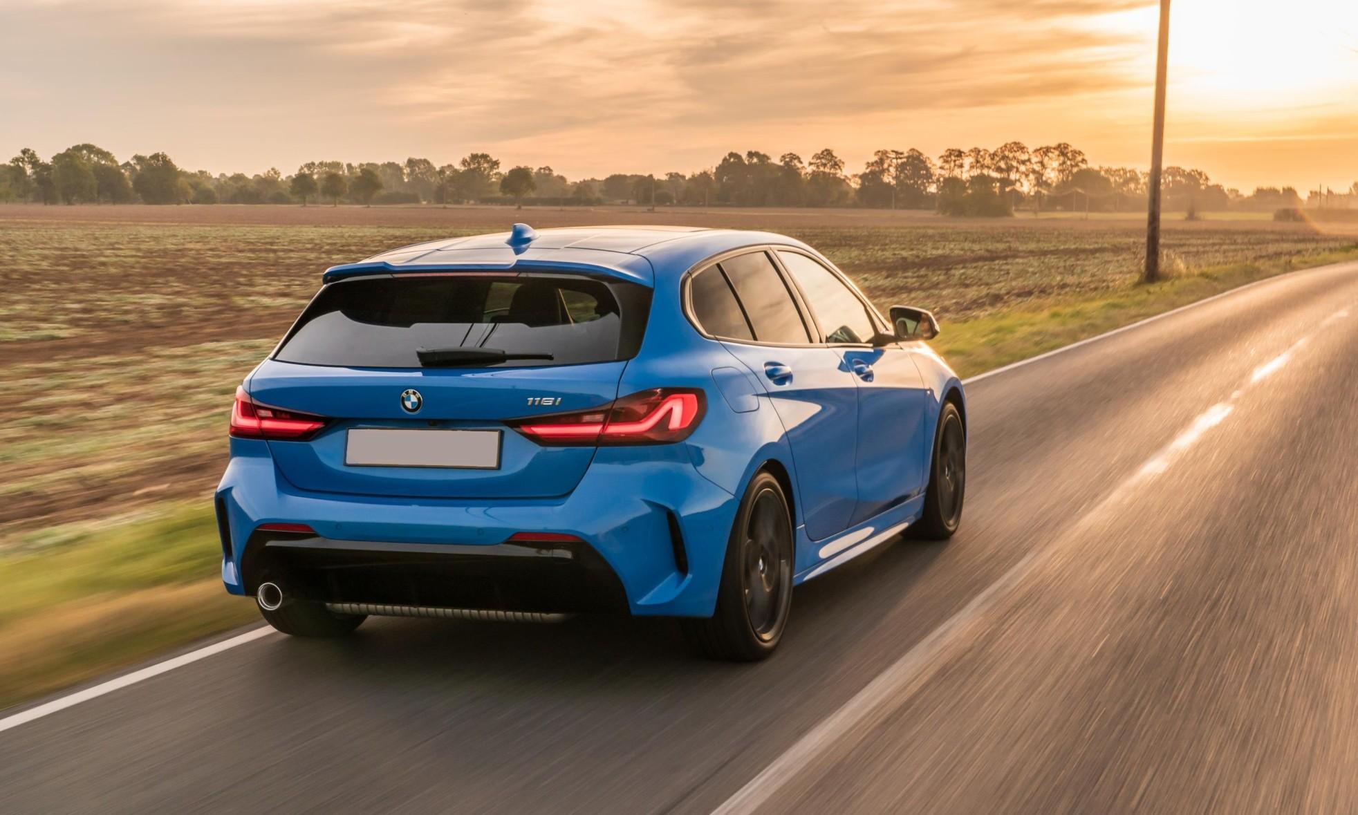 BMW 118i rear
