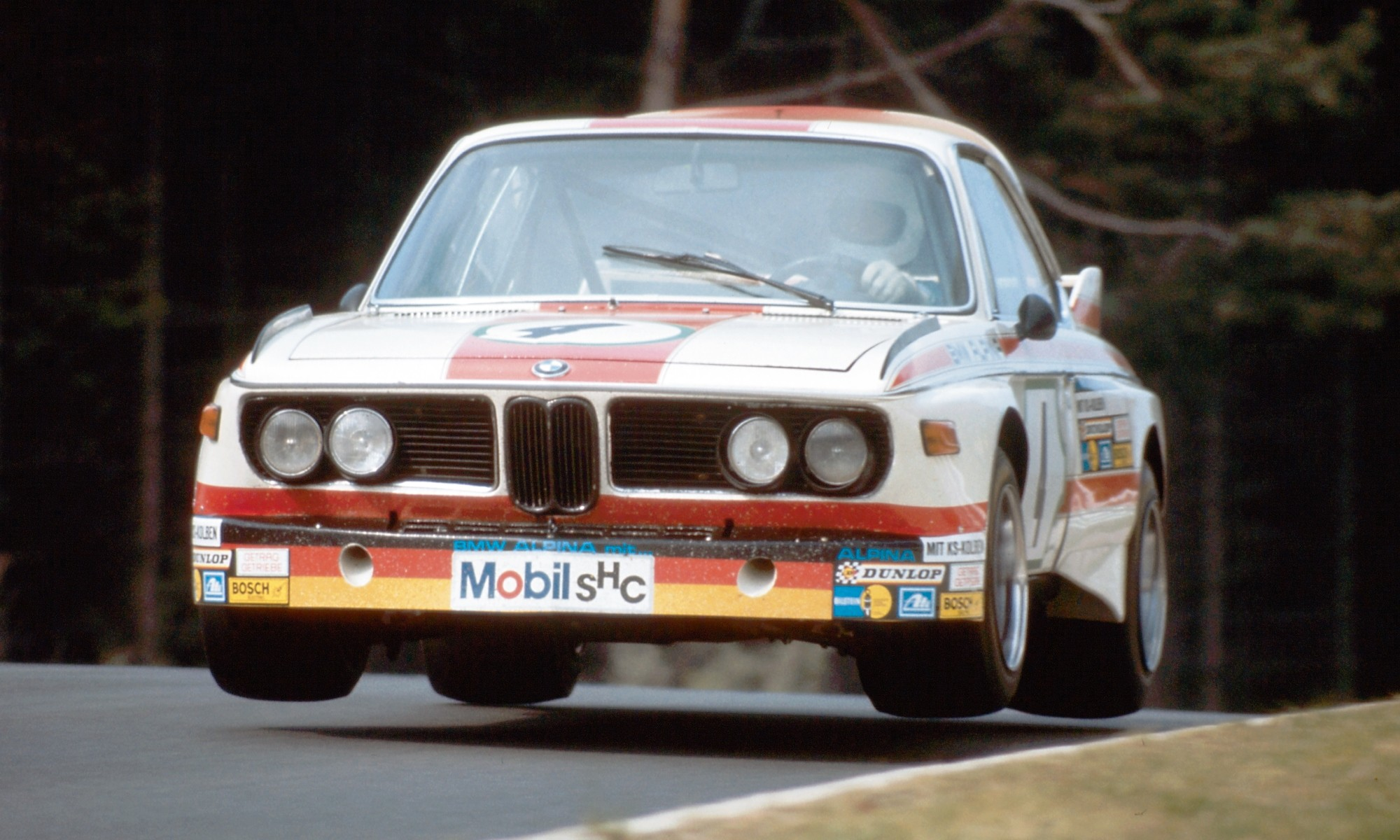 BMW 3,0 CSL in action