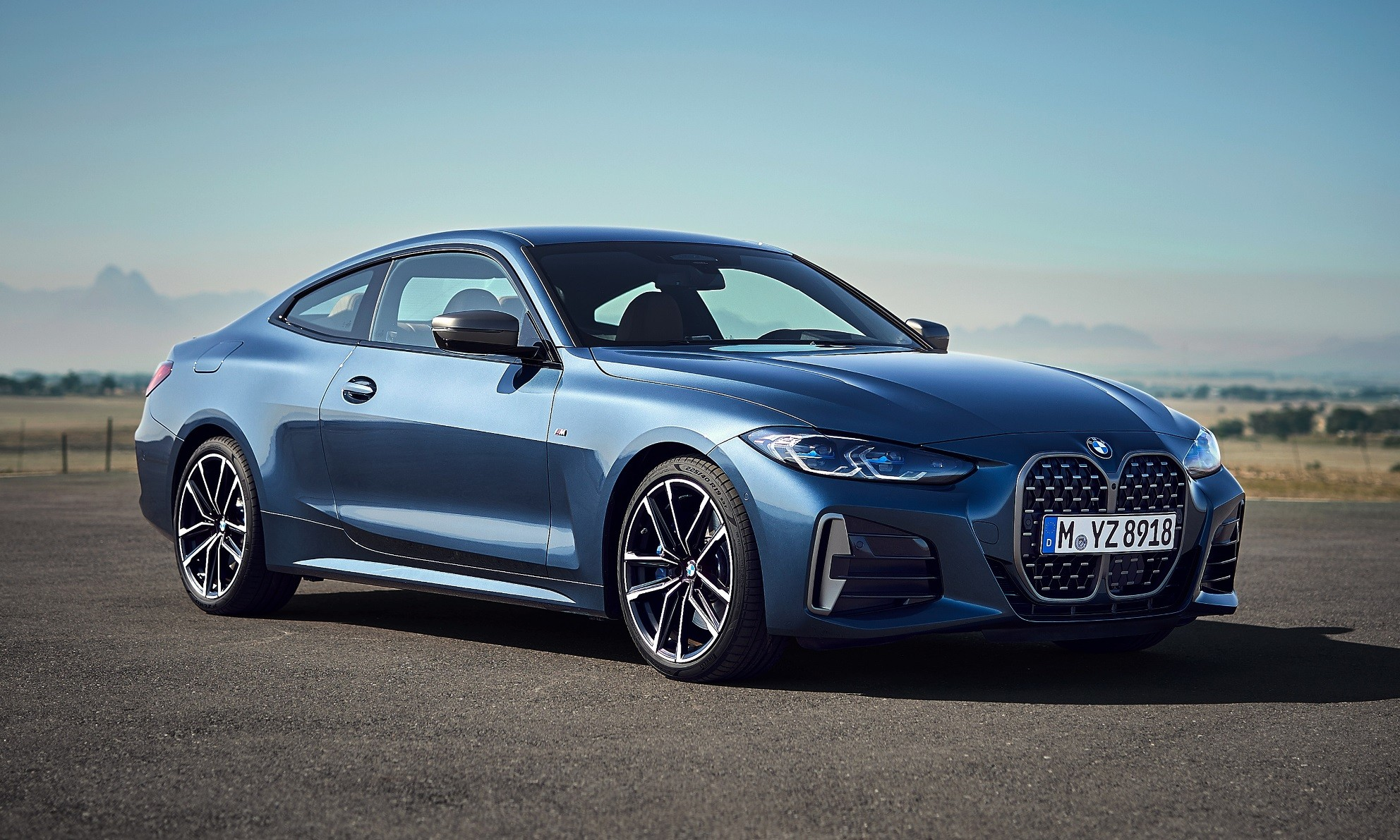 BMW 4 Series Coupe unveiled front