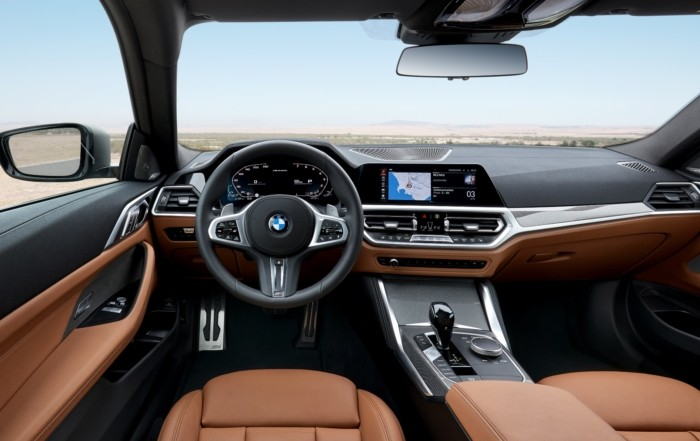 BMW 4 Series Coupe unveiled interior