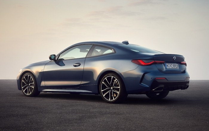 BMW 4 Series Coupe unveiled rear