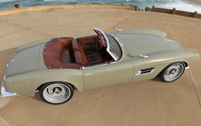 BMW 507 Restomod cabin