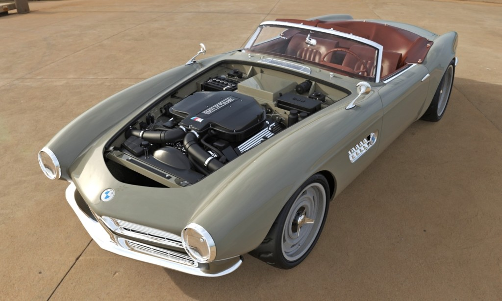 BMW 507 Restomod engine