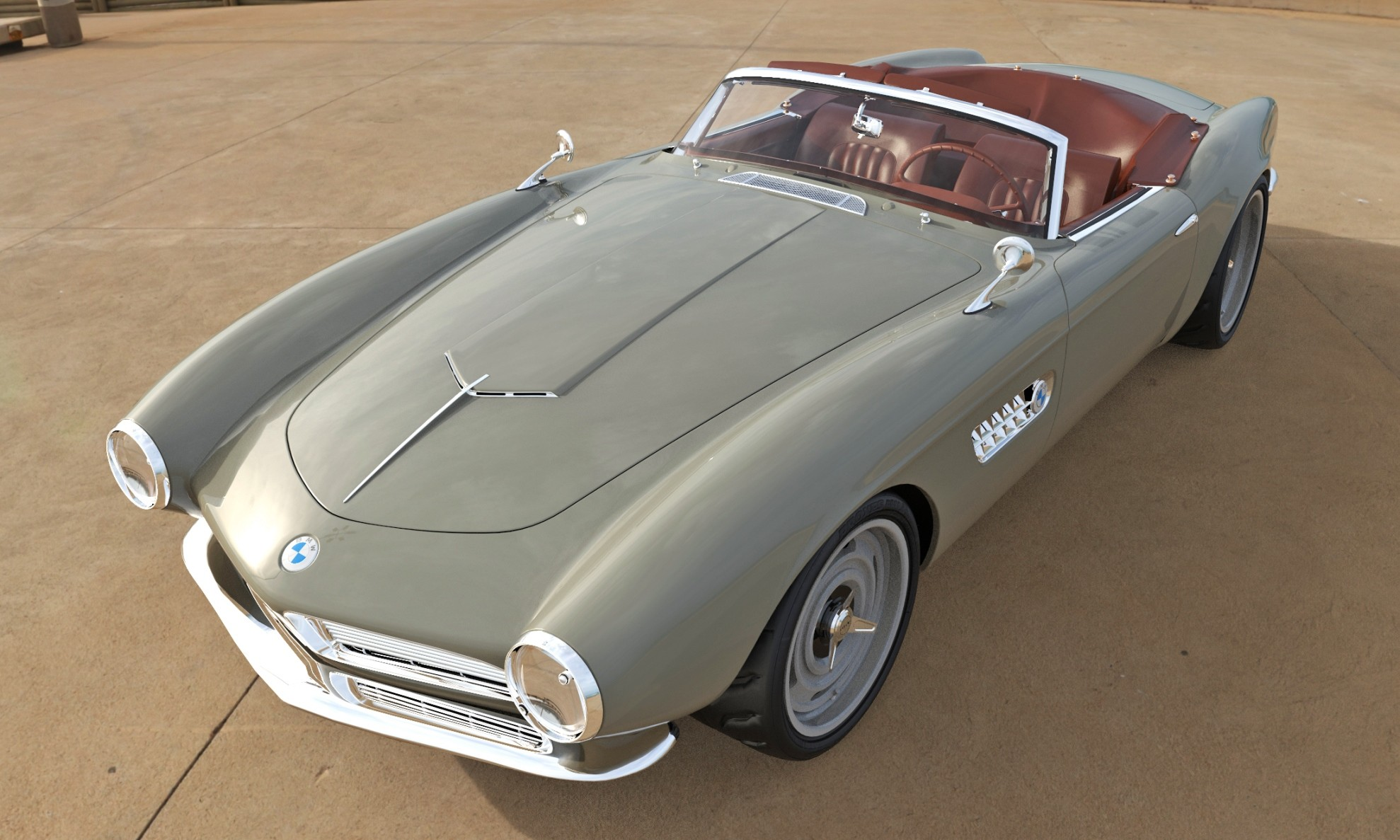 BMW 507 Restomod front
