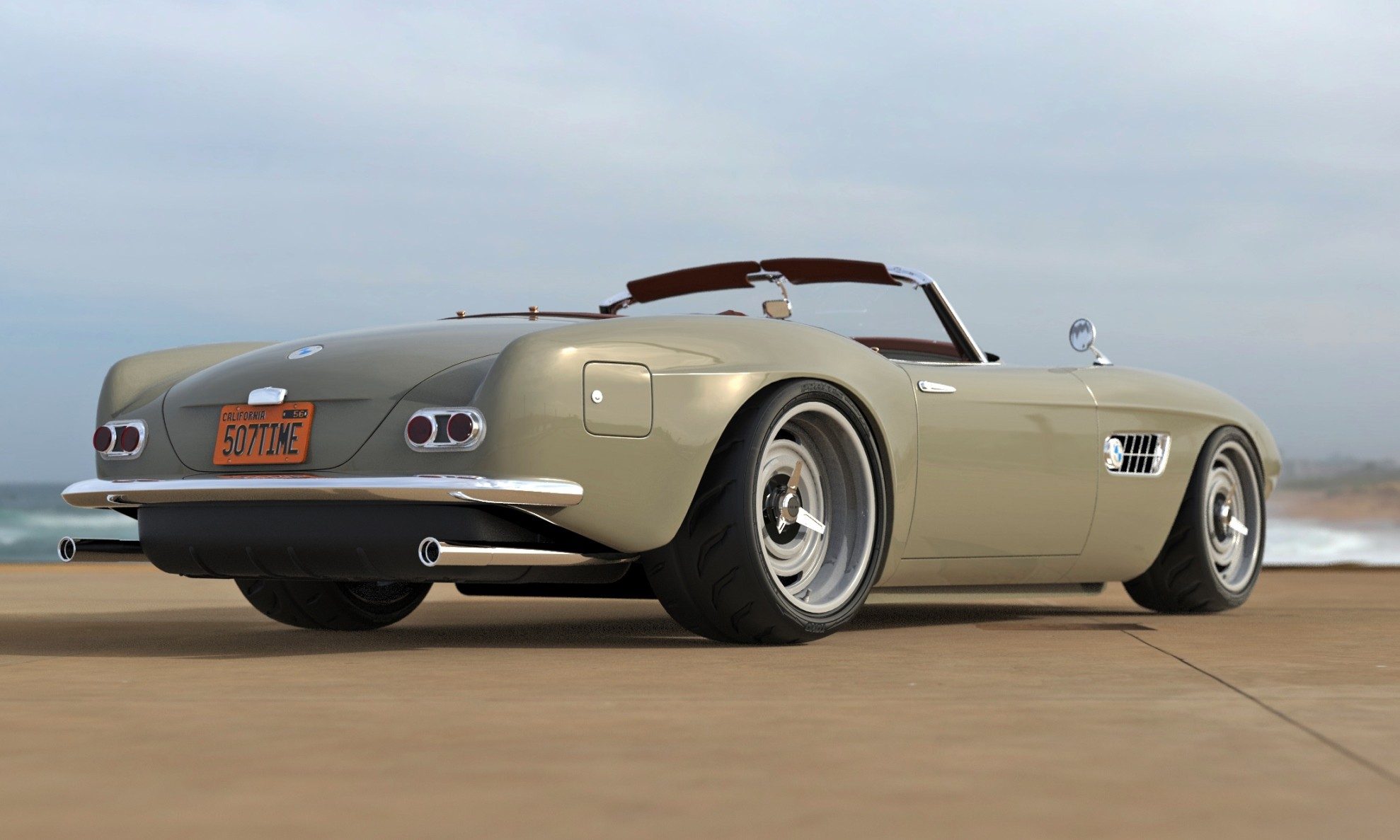BMW 507 Restomod rear