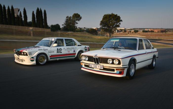 BMW 530 MLE Racecar and road car