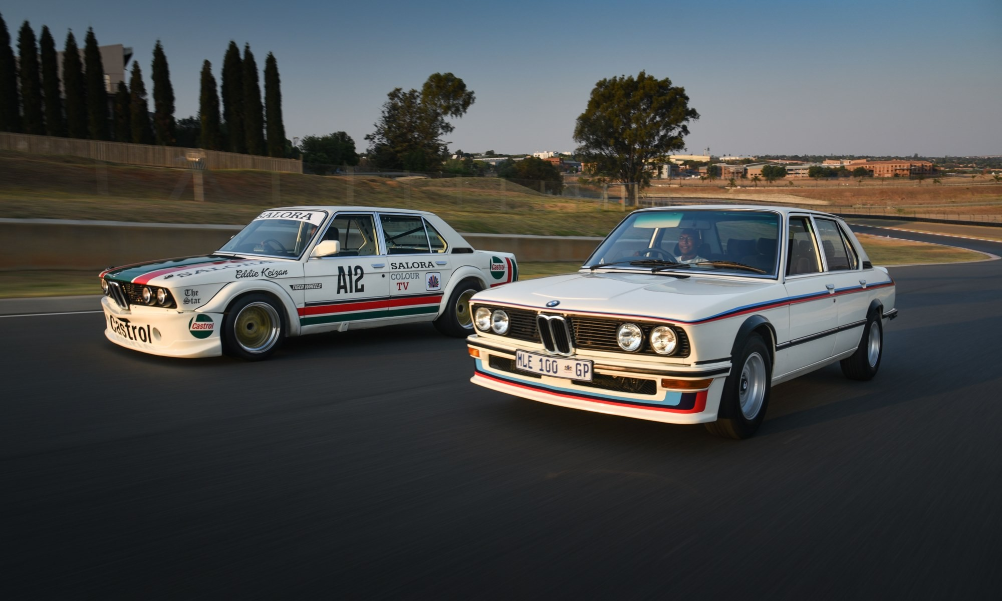 BMW 530 MLE Racecar and road car