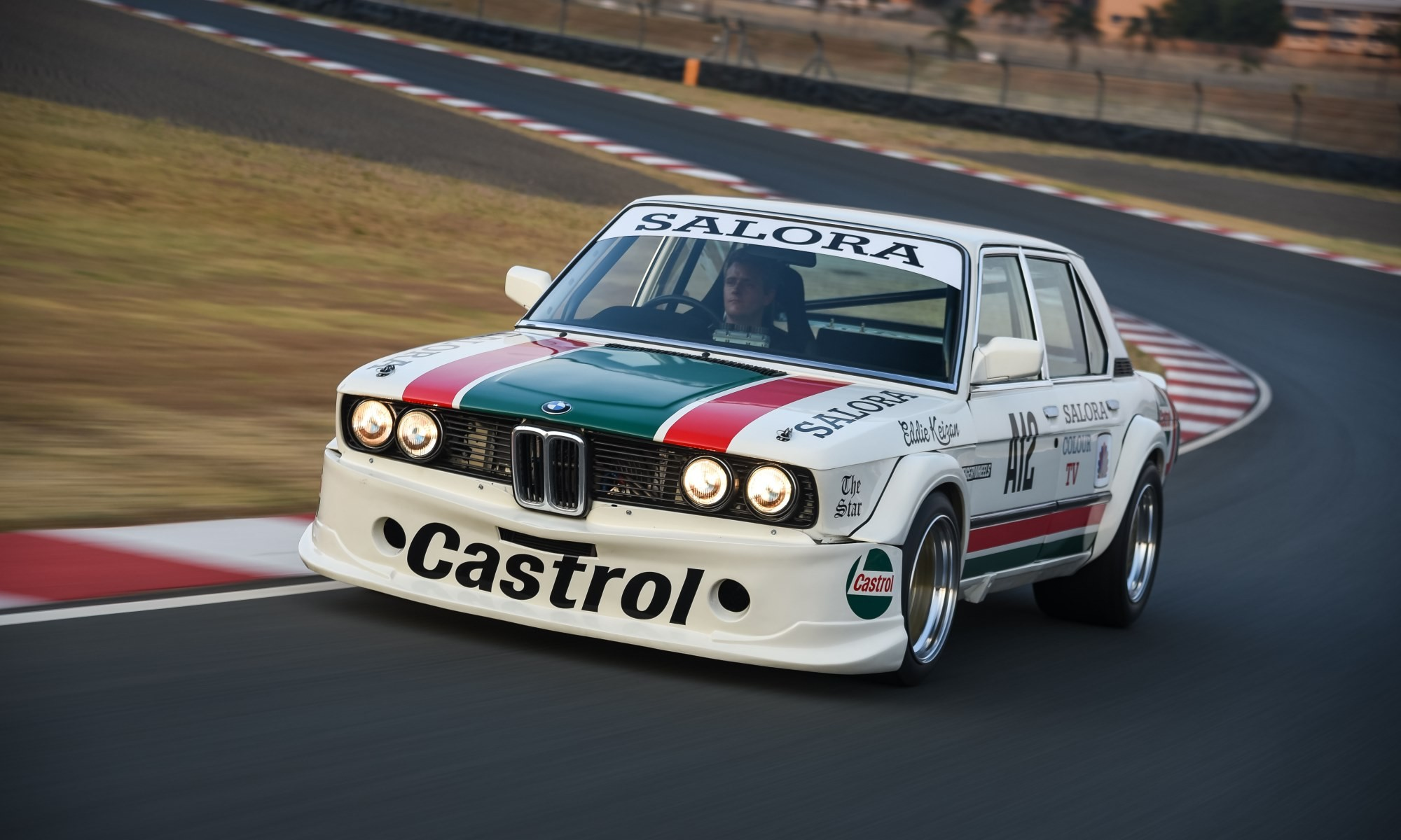BMW 530 MLE Racecar front