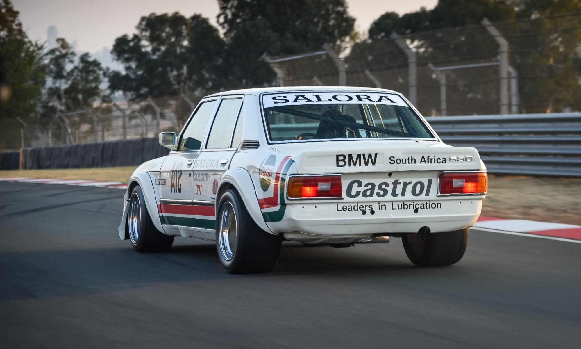 BMW 530 MLE Racecar rear