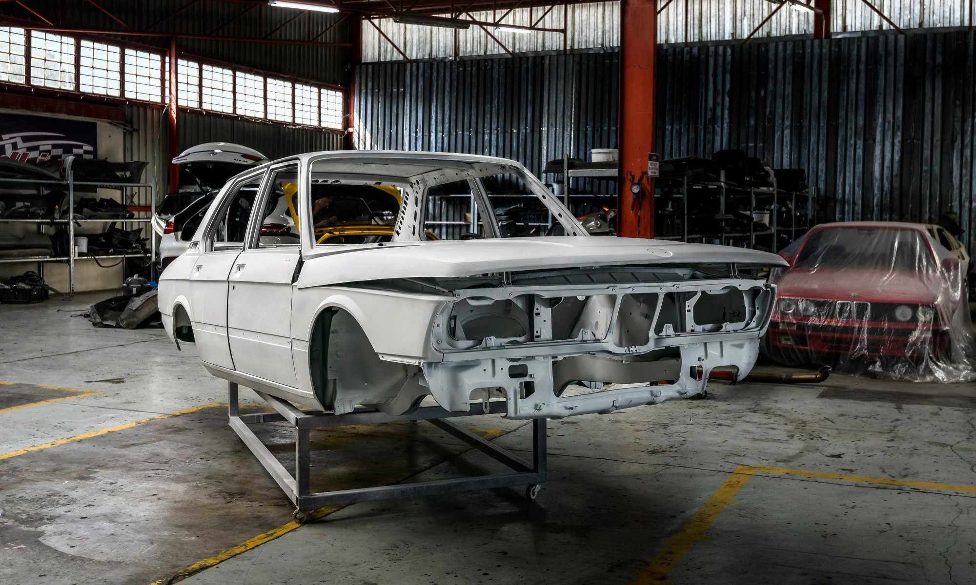 BMW 530 MLE Restoration in progress