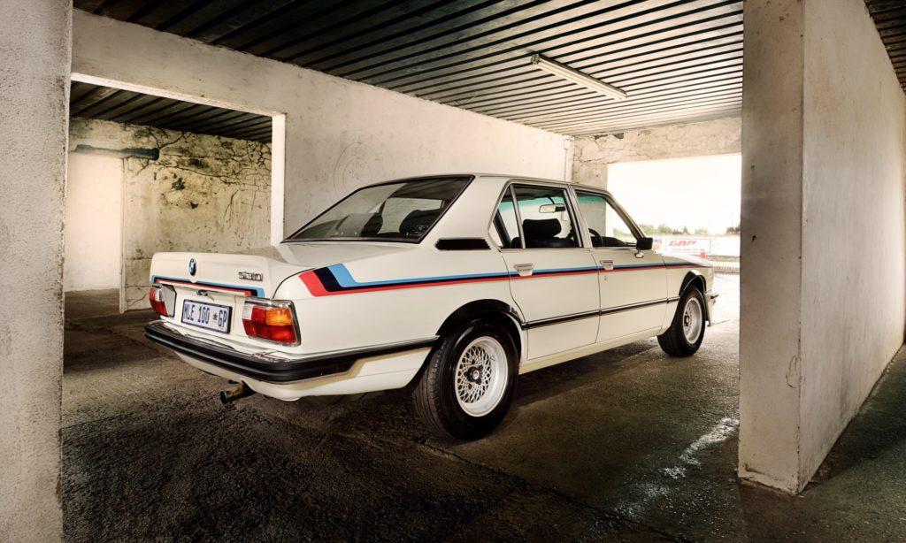 BMW 530 MLE Restored in garage