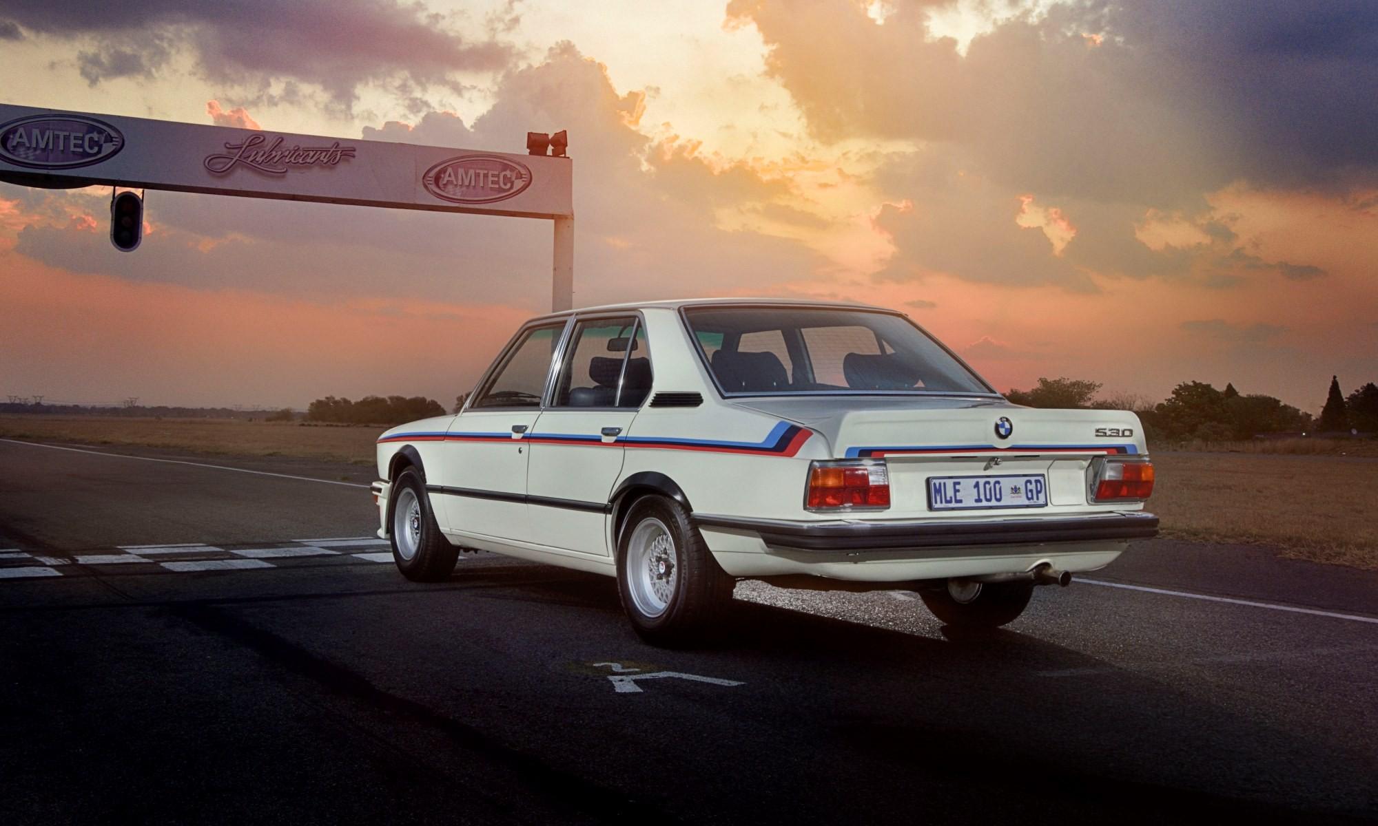 BMW 530 MLE Restored rear