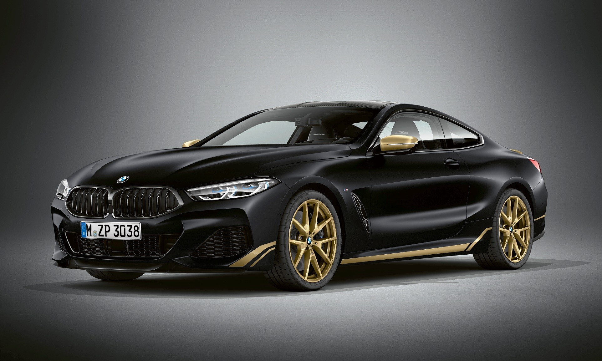 BMW 8 Series Edition Golden Thunder
