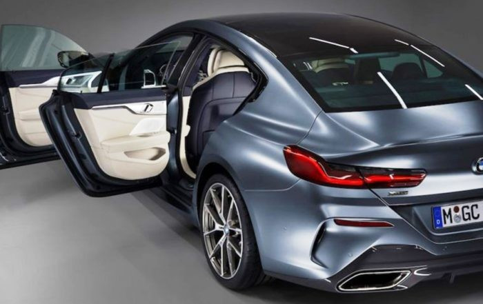 BMW 8 Series Gran Coupe Images Leaked rear