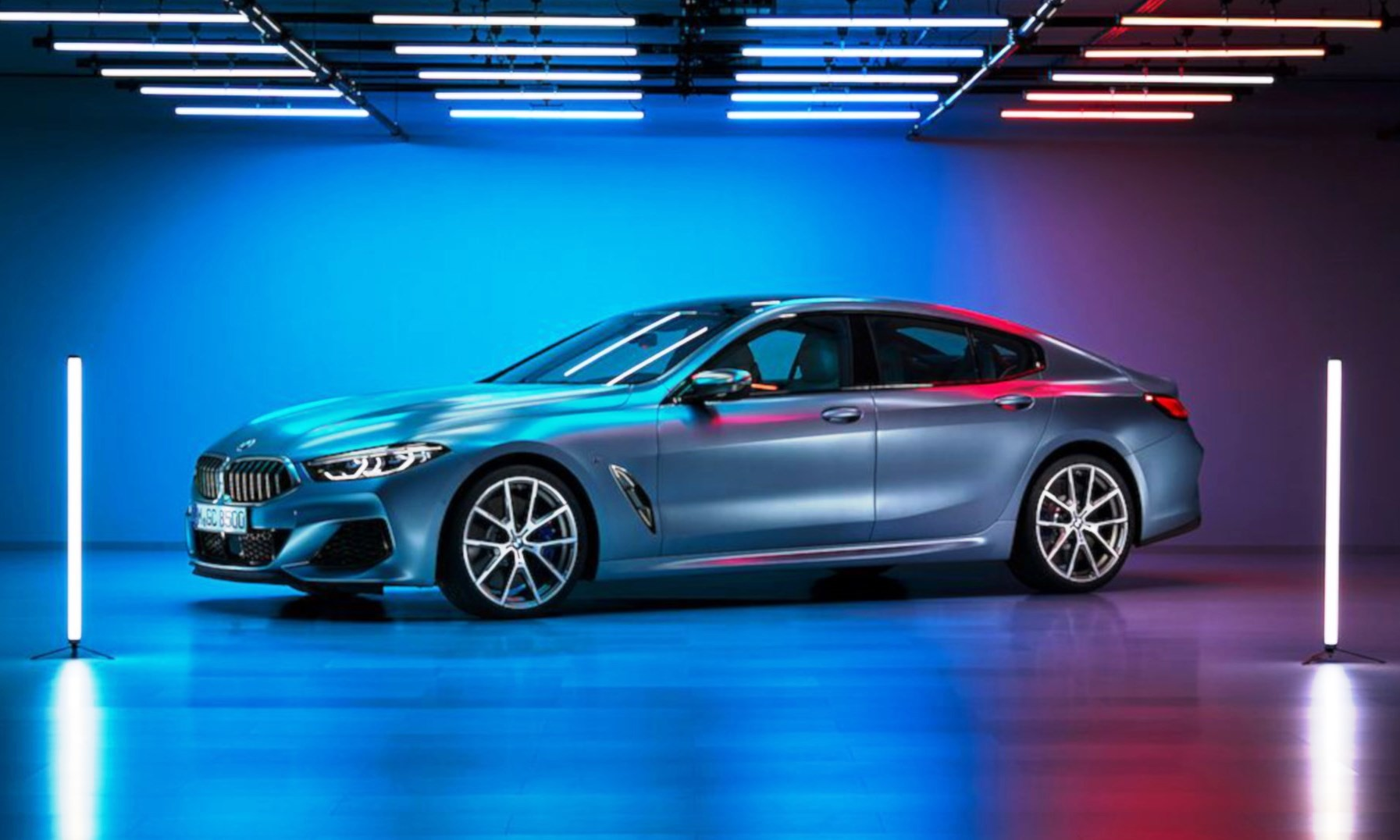 BMW 8 Series Gran Coupe Images Leaked