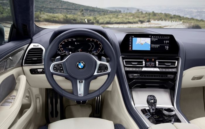 BMW 8 Series Gran Coupe interior