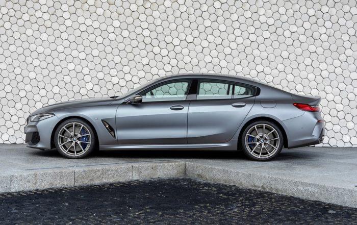 BMW 8 Series Gran Coupe profile
